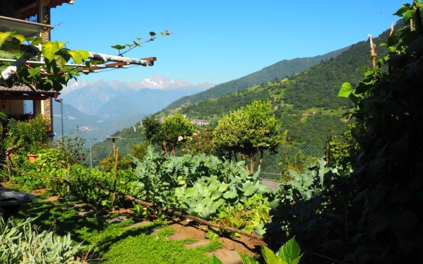 Signorile Villa con giardino! Stupenda vista sulle Alpi!