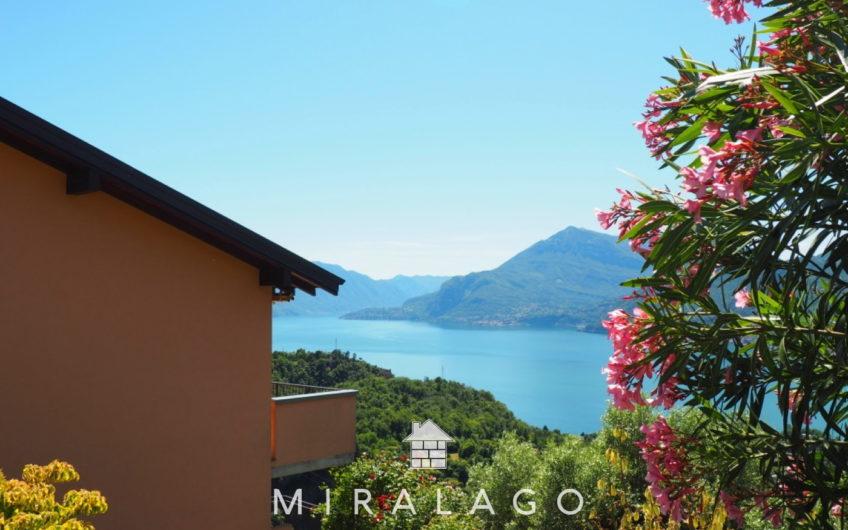 Appartamento su due piani stupenda vista lago